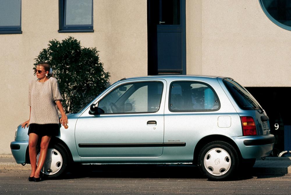 Nissan Micra 1 поколение K11 (1992-1997) Хетчбэк 3-дв.