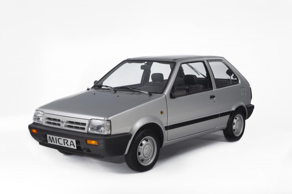 Nissan Micra 1 поколение K10 (1982-1992) Хетчбэк 3-дв.