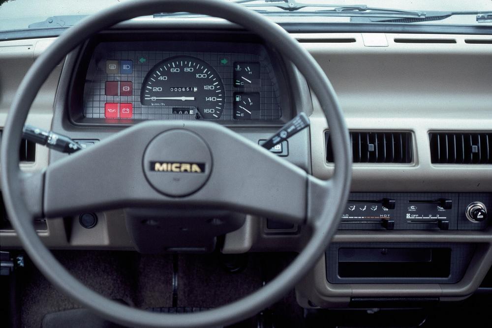 Nissan Micra 1 поколение K10 (1982-1992) Хетчбэк 3-дв. интерьер