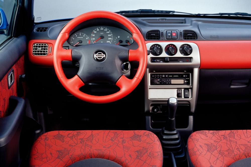 Nissan Micra 2 поколение K11C [2-й рестайлинг] Хетчбэк 3-дв. интерьер
