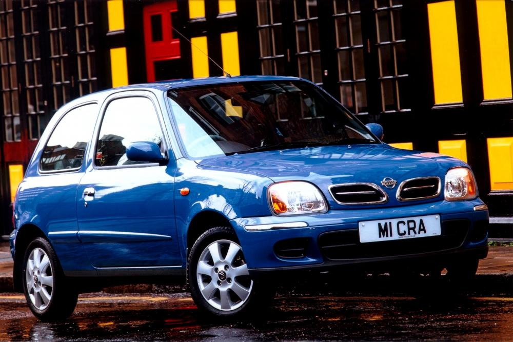 Nissan Micra 2 поколение K11C [2-й рестайлинг] Хетчбэк 3-дв.