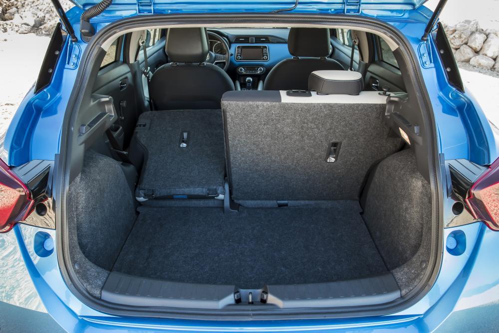 Nissan Micra 5 поколение K14 (2017) Хетчбэк багажник