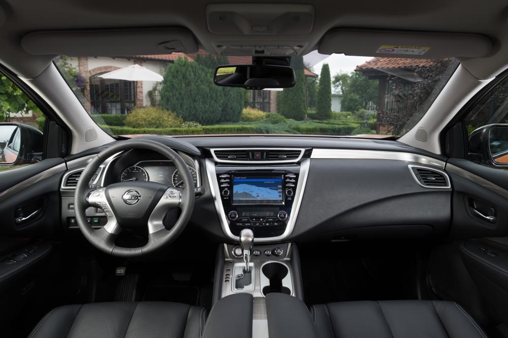 Nissan Murano 3 поколение Z52 (2016) Кроссовер интерьер