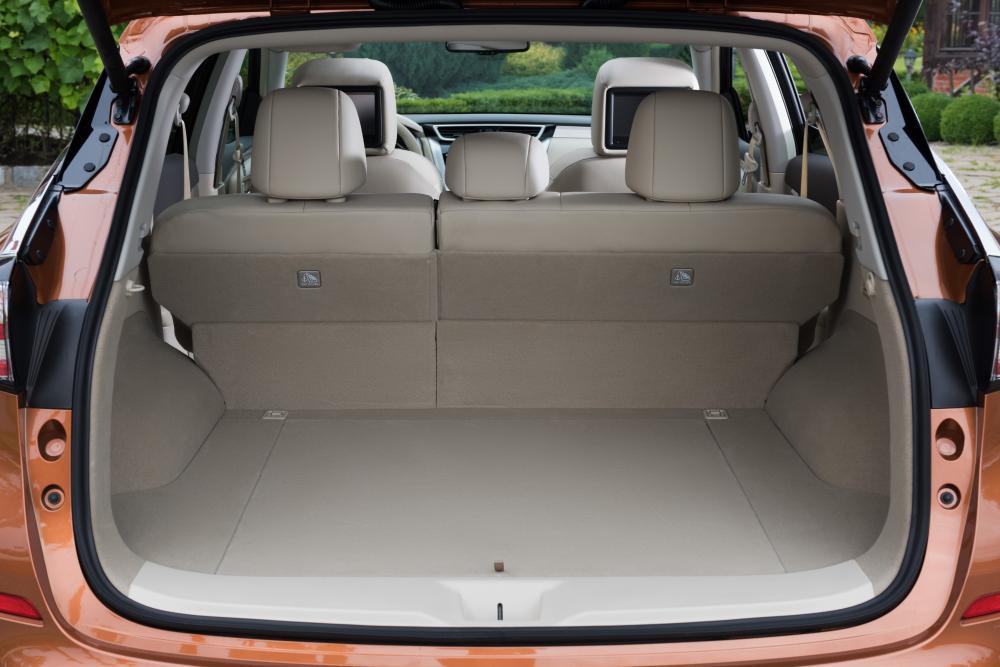 Nissan Murano 3 поколение Z52 (2016) Кроссовер багажник