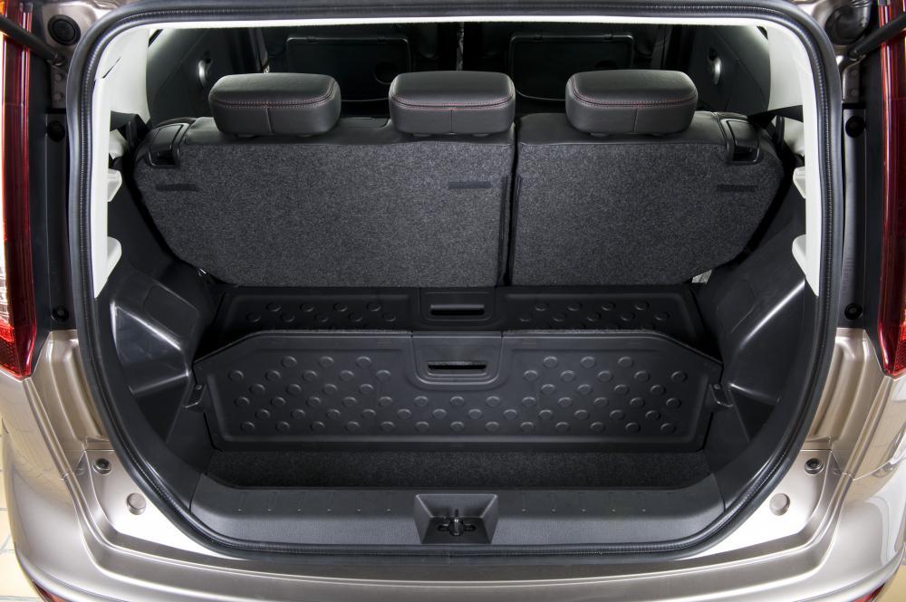 Nissan Note 1 поколение E11 [рестайлинг] (2009-2014) Хетчбэк багажник