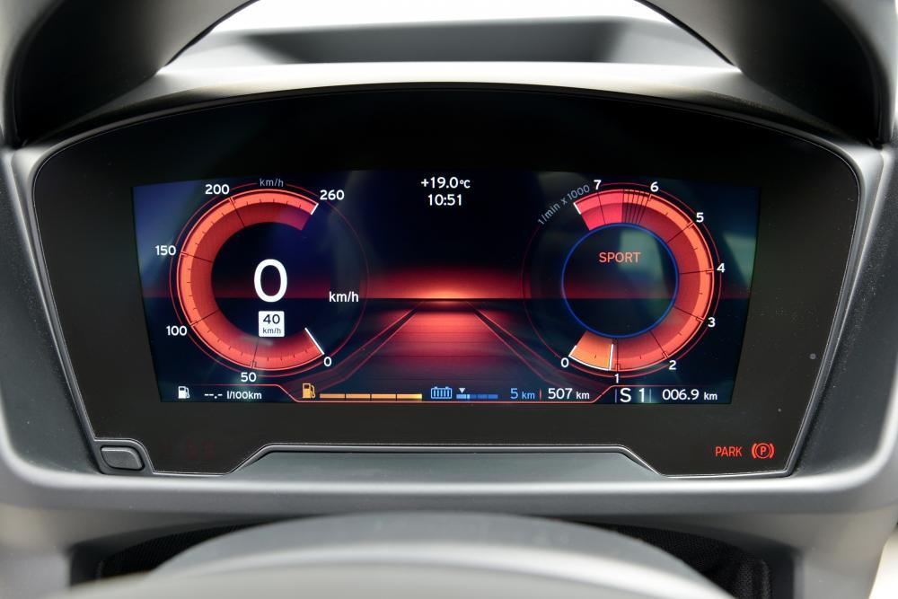BMW i8 1 поколение I12 (2013-2017) Купе комбинация приборов