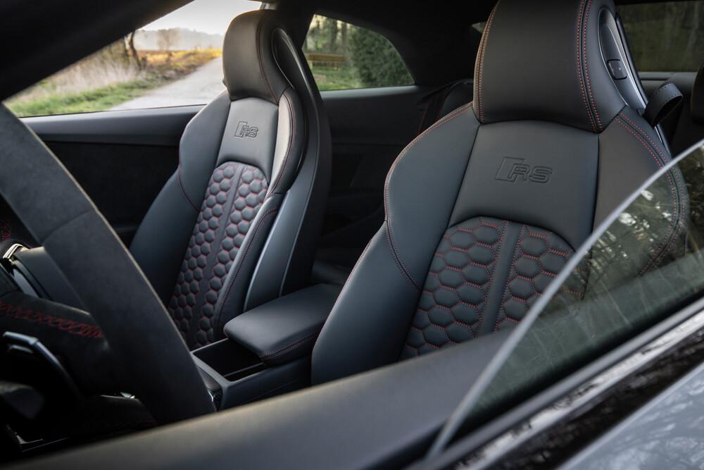 Audi RS 5 2 поколение F5 [рестайлинг] (2019) Купе интерьер