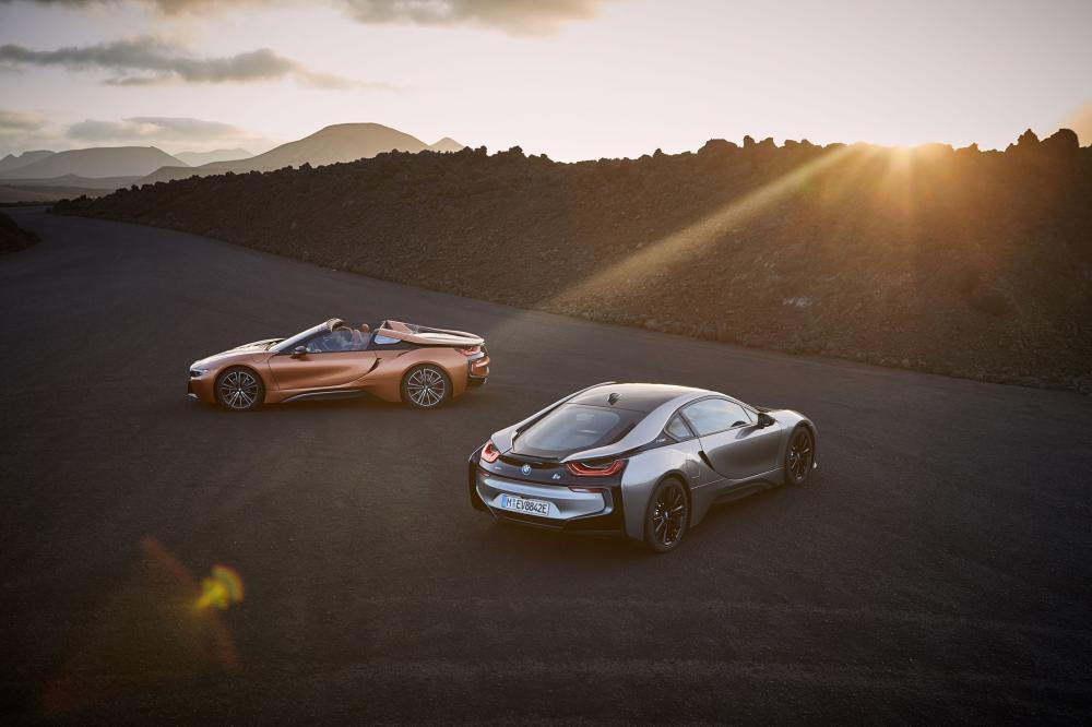 BMW i8 1 поколение I12 [рестайлинг] (2017) Купе