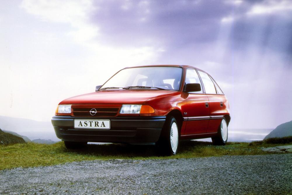 Opel Astra 1 поколение F (1991-1994) Хетчбэк 5-дв.