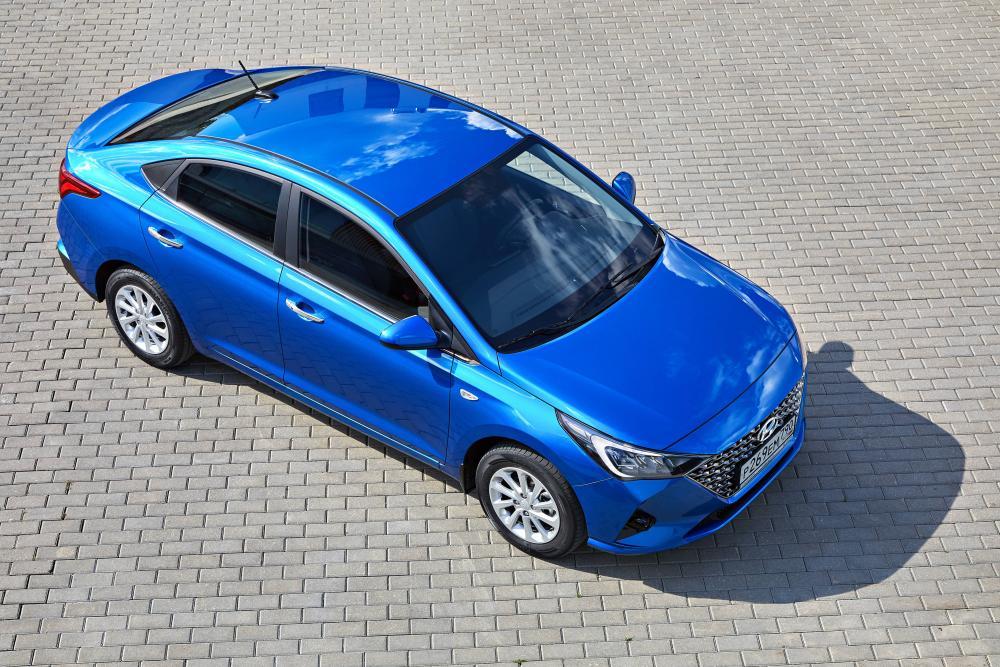 Hyundai Solaris 2 поколение [рестайлинг] (2020) Седан