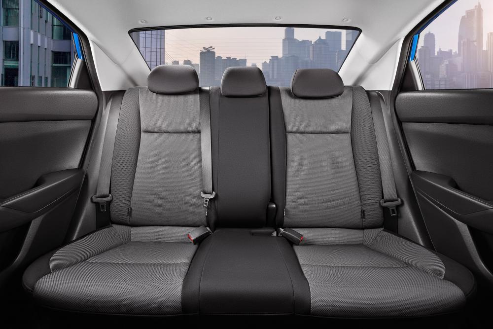 Hyundai Solaris 2 поколение [рестайлинг] (2020) Седан интерьер