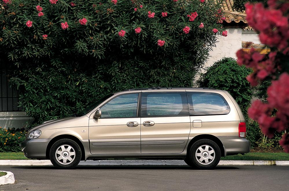 Kia Carnival 1 поколение [рестайлинг] (2002-2006) Минивэн