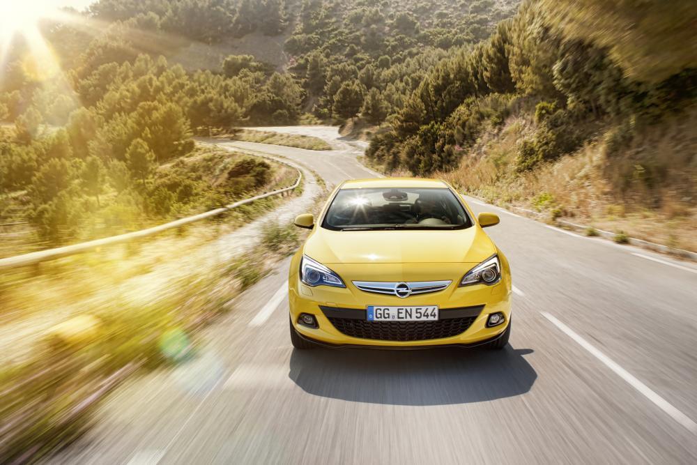 Opel Astra 4 поколение J [рестайлинг] (2011-2015) GTC хетчбэк 3-дв.