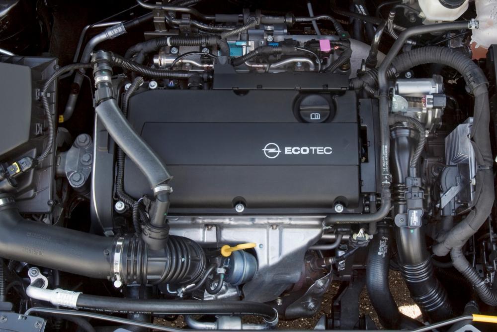 Opel Astra 4 поколение J [рестайлинг] (2011-2015) GTC хетчбэк 3-дв. двигатель