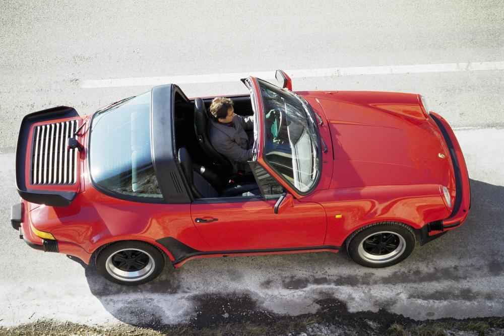 Porsche 911 2 поколение 930 (1974-1989) Тарга Targa