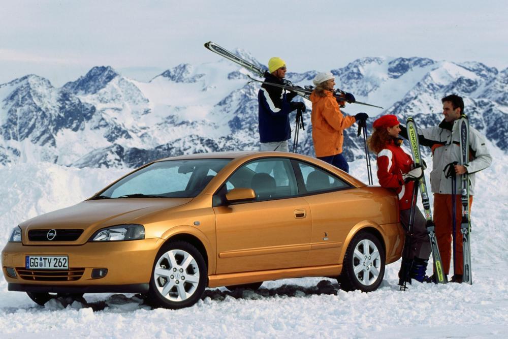Opel Astra G (2000-2004) Купе 2-дв.