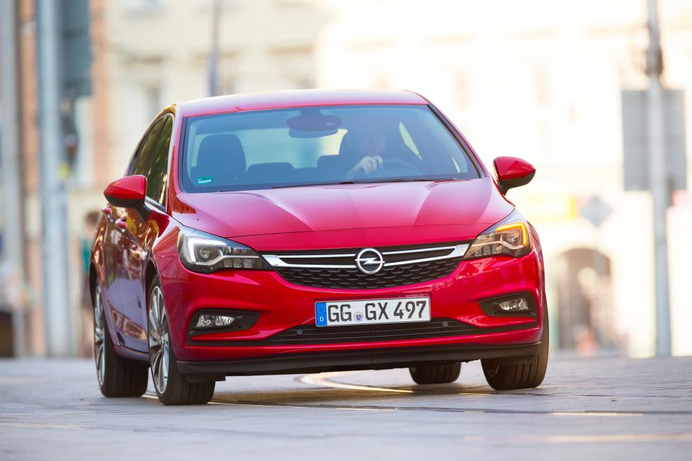 Opel Astra K (2015-2018) Хетчбэк