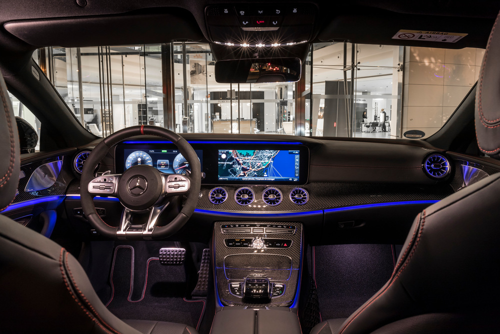 Mercedes-Benz CLS-klasse AMG C257 (2018-2020) Седан интерьер