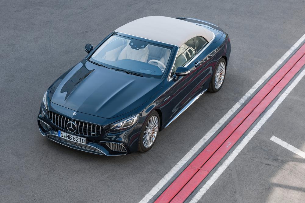 Mercedes-Benz S-klasse AMG A217 [рестайлинг] (2017-2021) Кабриолет