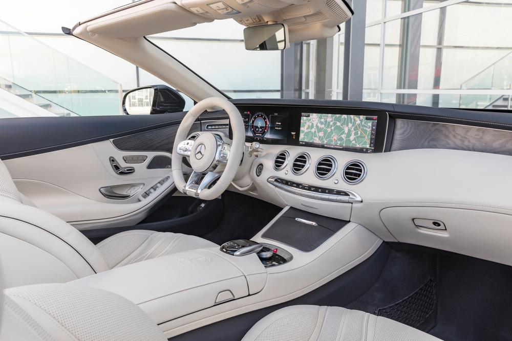Mercedes-Benz S-klasse AMG A217 [рестайлинг] (2017-2021) Кабриолет интерьер