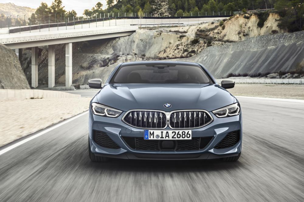 BMW 8 серия 2 поколение G15 (2018) Купе
