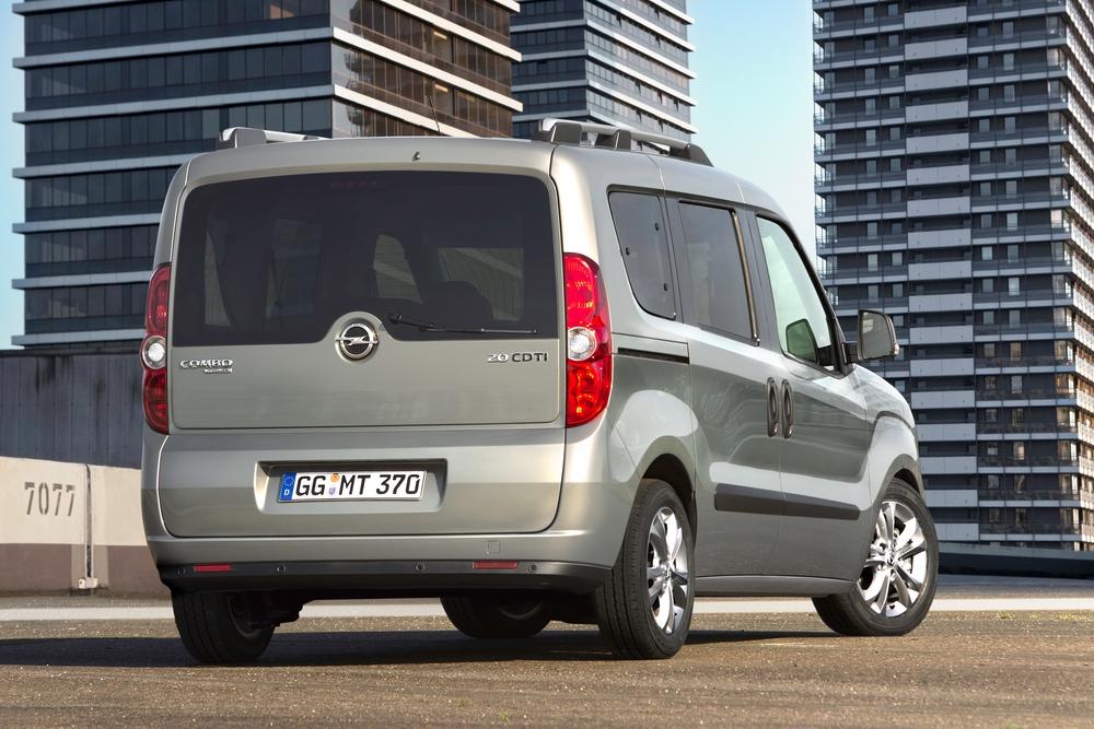 Opel Combo 3 поколение D (2011-2018) Tour минивэн