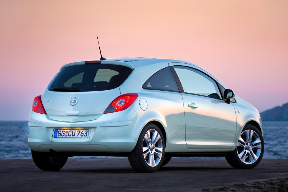 Opel Corsa 4 поколение D [рестайлинг] (2010-2014) Хетчбэк 3-дв.