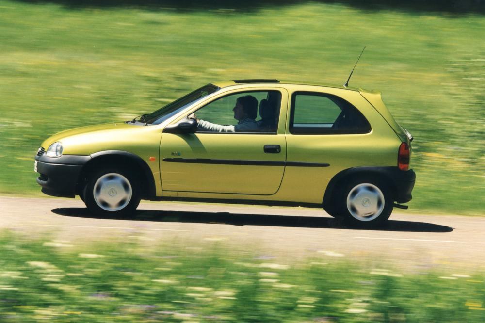 Opel Corsa B [рестайлинг] (1997-2000) Хетчбэк 3-дв.