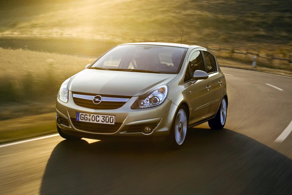 Opel Corsa 4 поколение D (2006-2011) Хетчбэк 5-дв.