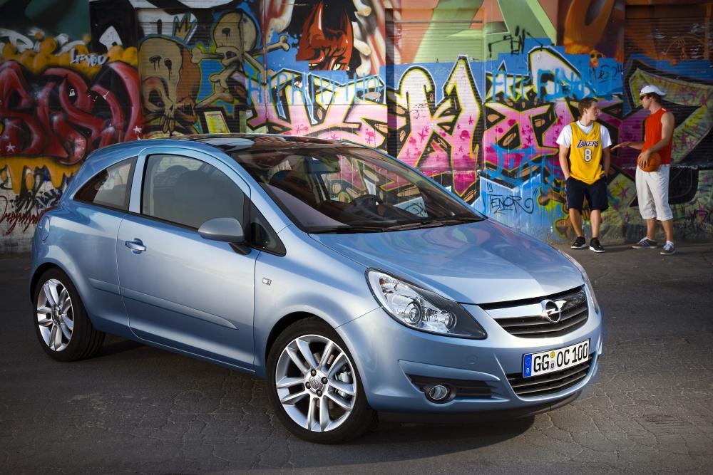 Opel Corsa 4 поколение D (2006-2011) Хетчбэк 3-дв.