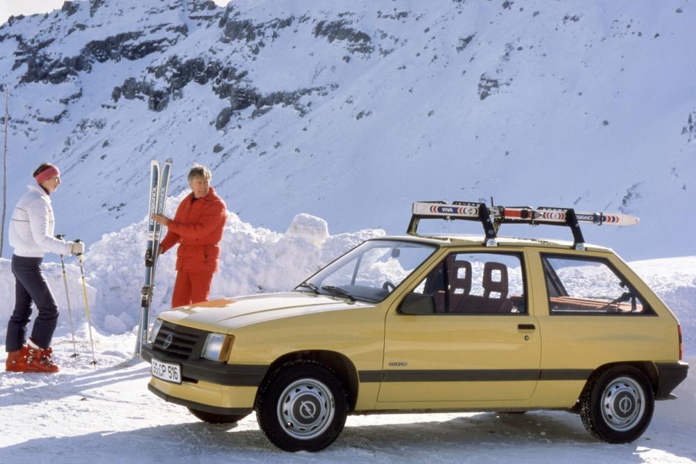 Opel Corsa 1 поколение A (1982-1987) Хетчбэк 3-дв.