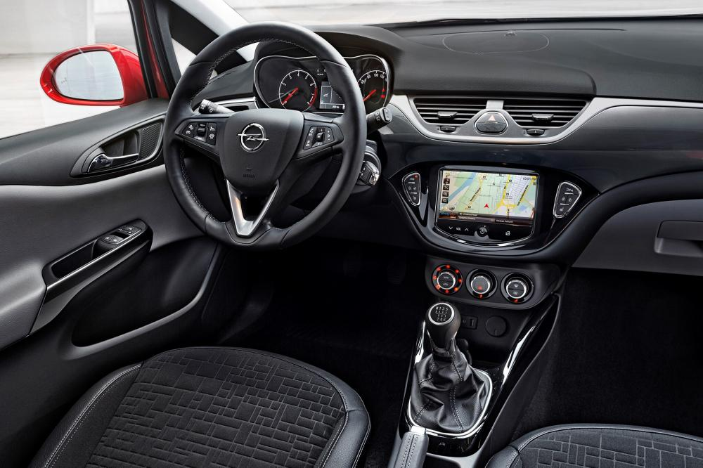 Opel Corsa 5 поколение E (2014-2019) Хетчбэк 5-дв. интерьер