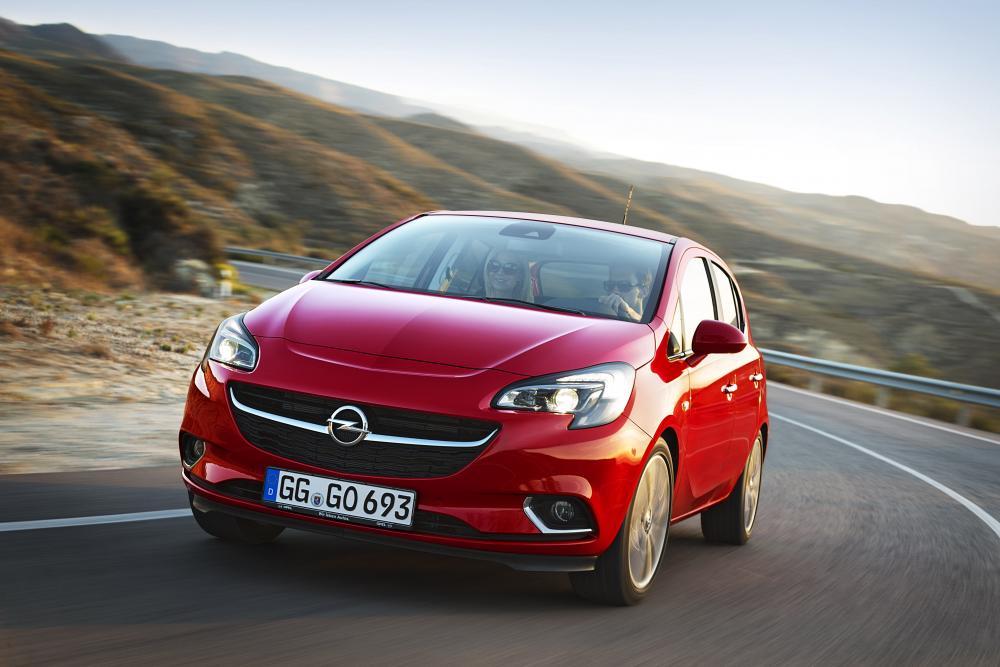 Opel Corsa 5 поколение E (2014-2019) Хетчбэк 5-дв.