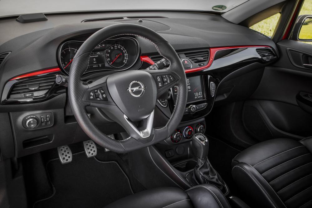 Opel Corsa 5 поколение E (2014-2019) Хетчбэк 3-дв. интерьер