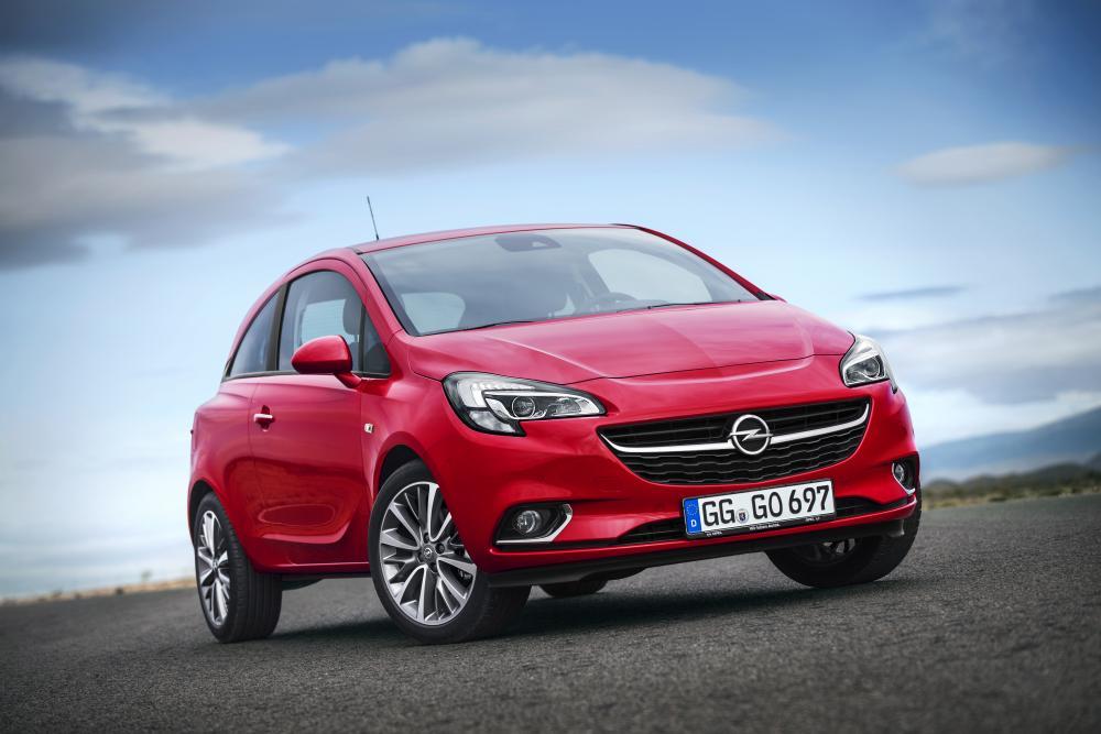 Opel Corsa 5 поколение E (2014-2019) Хетчбэк 3-дв.