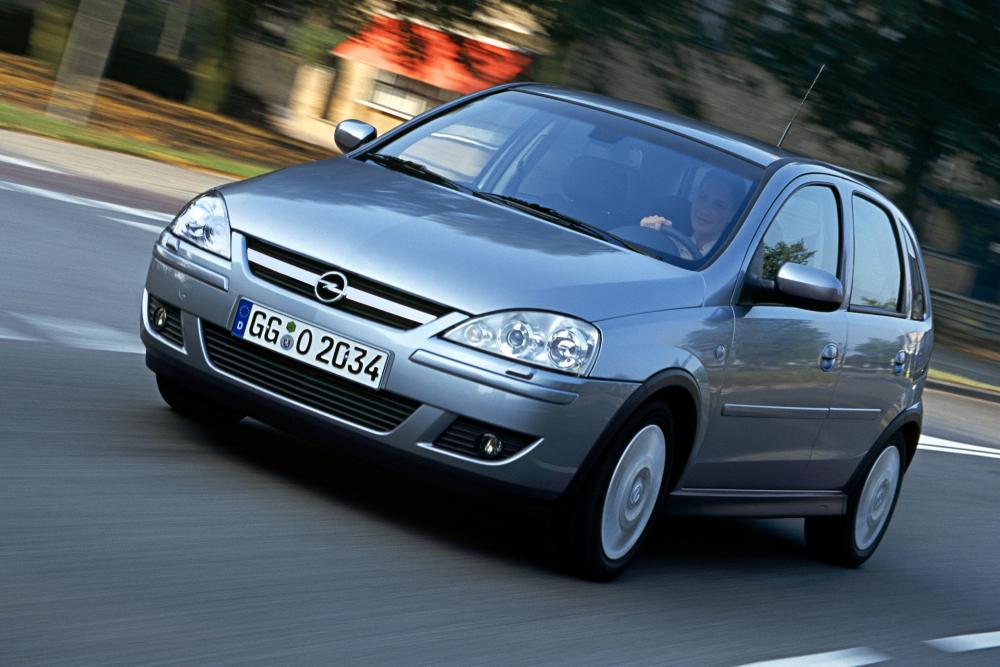 Opel Corsa 3 поколение C [рестайлинг] (2003-2006) Хетчбэк 5-дв.