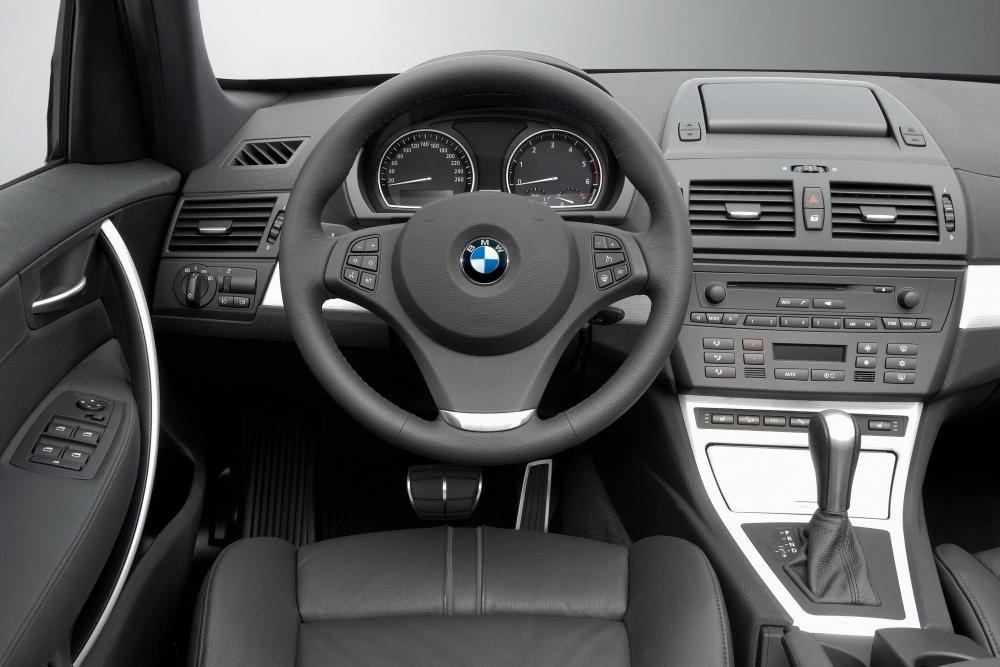 BMW X3 1 поколение E83 [рестайлинг] (2006-2010) Кроссовер интерьер