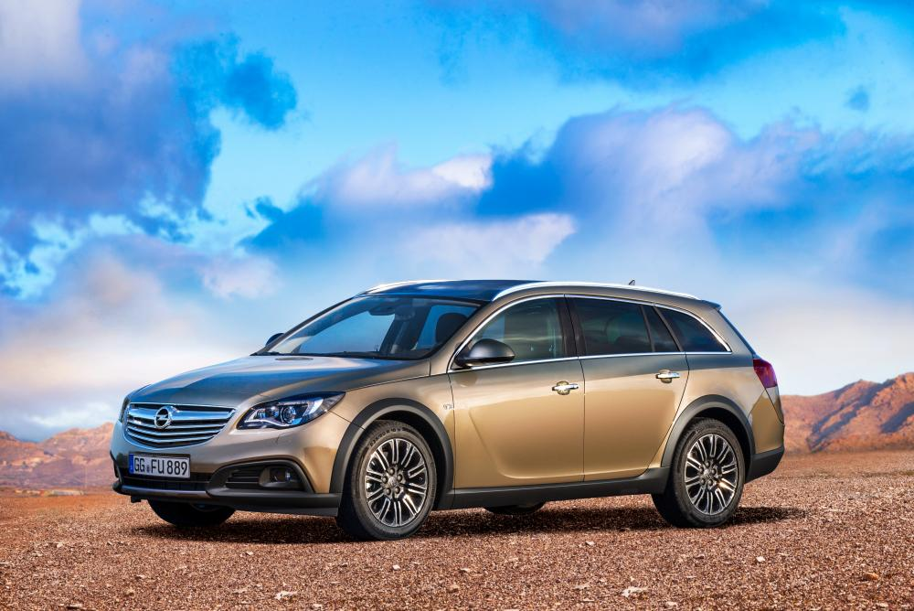 Opel Insignia A рестайлинг (2013-2018) Country Tourer универсал 5-дв.