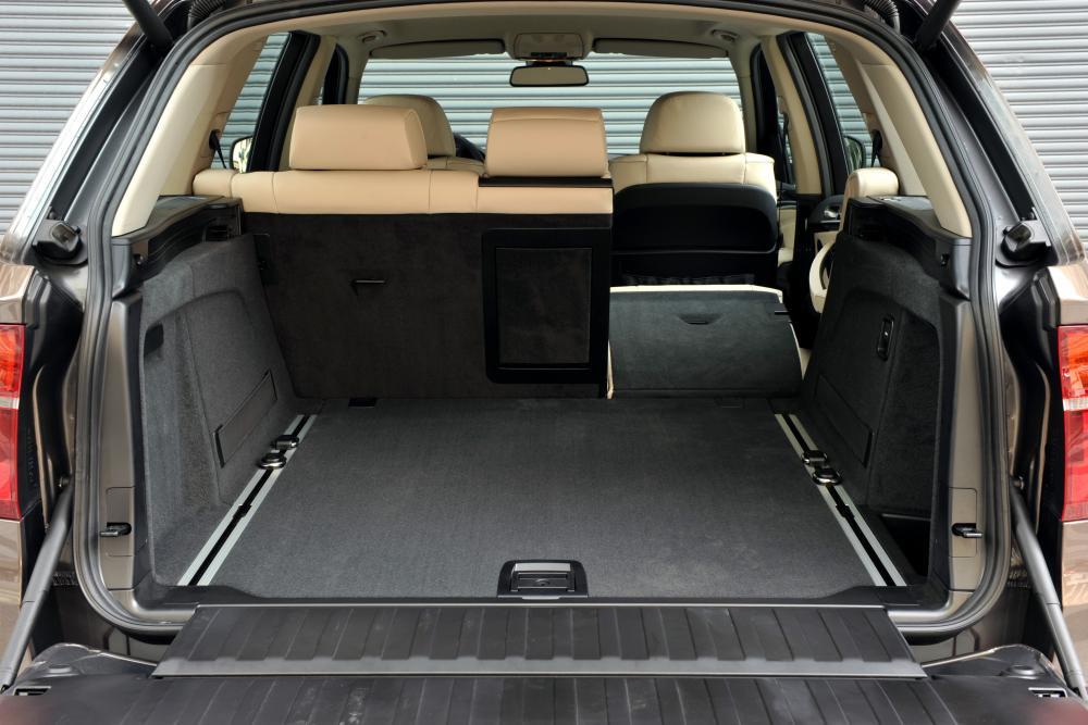 BMW X5 2 поколение E70 [рестайлинг] (2010-2013) Кроссовер багажник