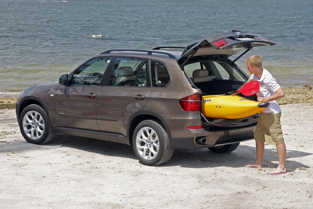 BMW X5 2 поколение E70 [рестайлинг] (2010-2013) Кроссовер