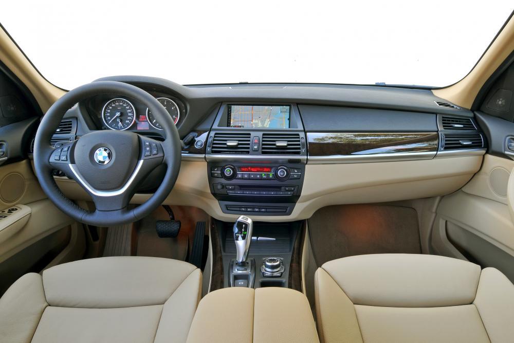 BMW X5 2 поколение E70 [рестайлинг] (2010-2013) Кроссовер интерьер