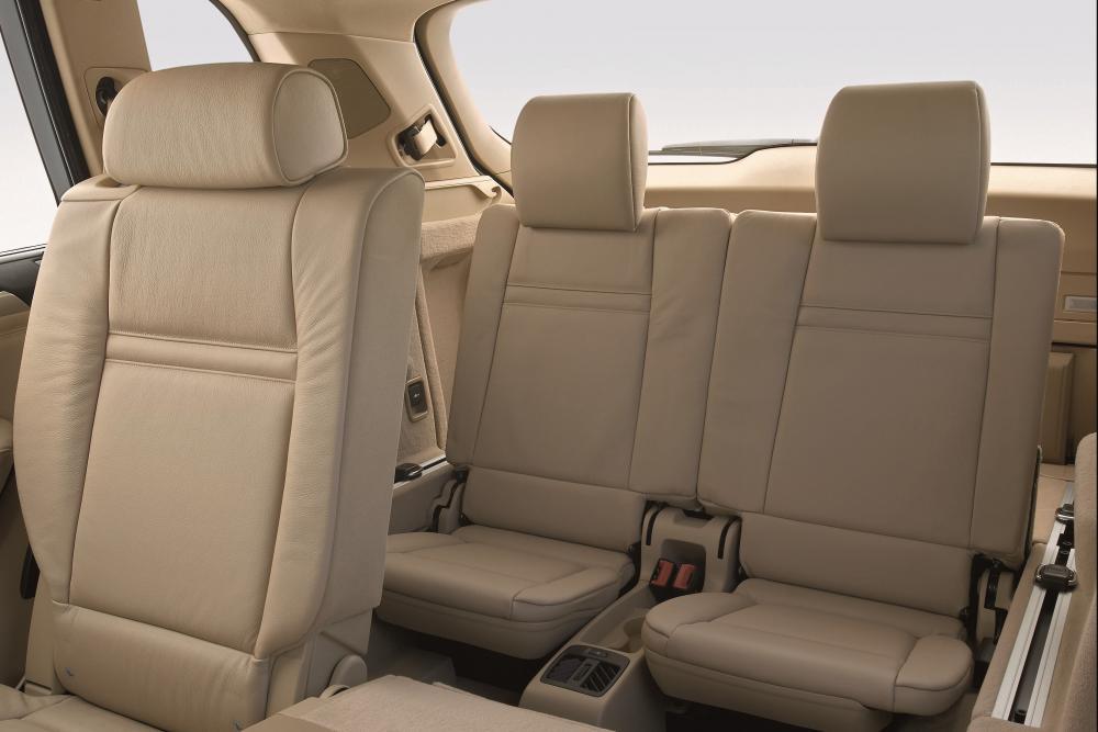 BMW X5 2 поколение E70 (2006-2010) Кроссовер интерьер
