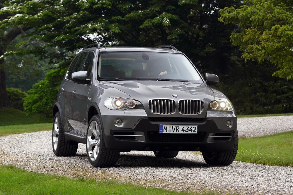BMW X5 2 поколение E70 (2006-2010) Кроссовер
