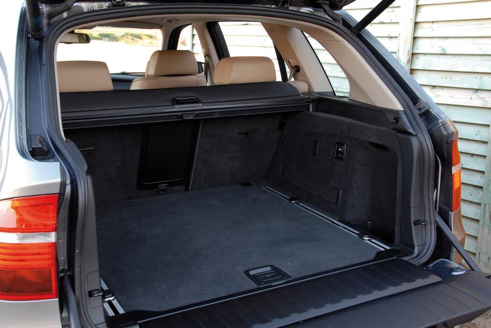 BMW X5 2 поколение E70 (2006-2010) Кроссовер багажник