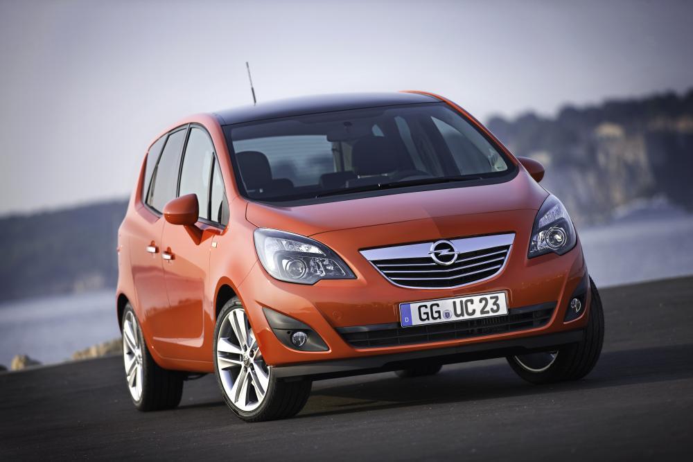 Opel Meriva 2 поколение (2010-2014) Минивэн