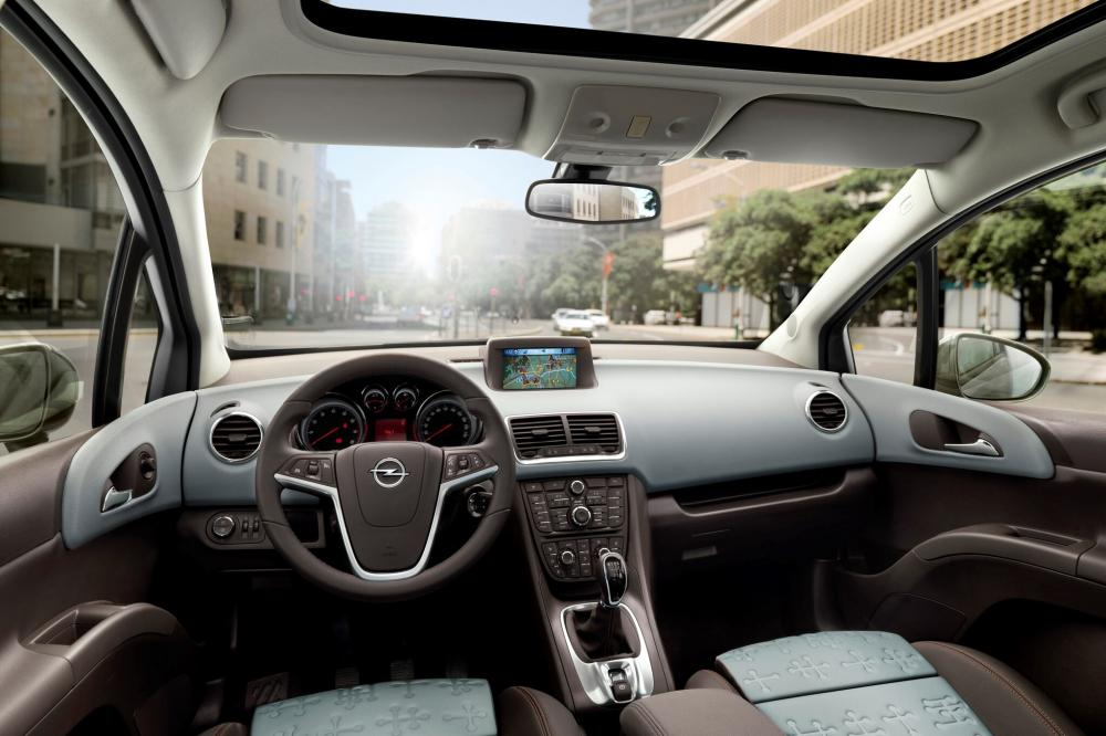 Opel Meriva 2 поколение (2010-2014) Минивэн интерьер
