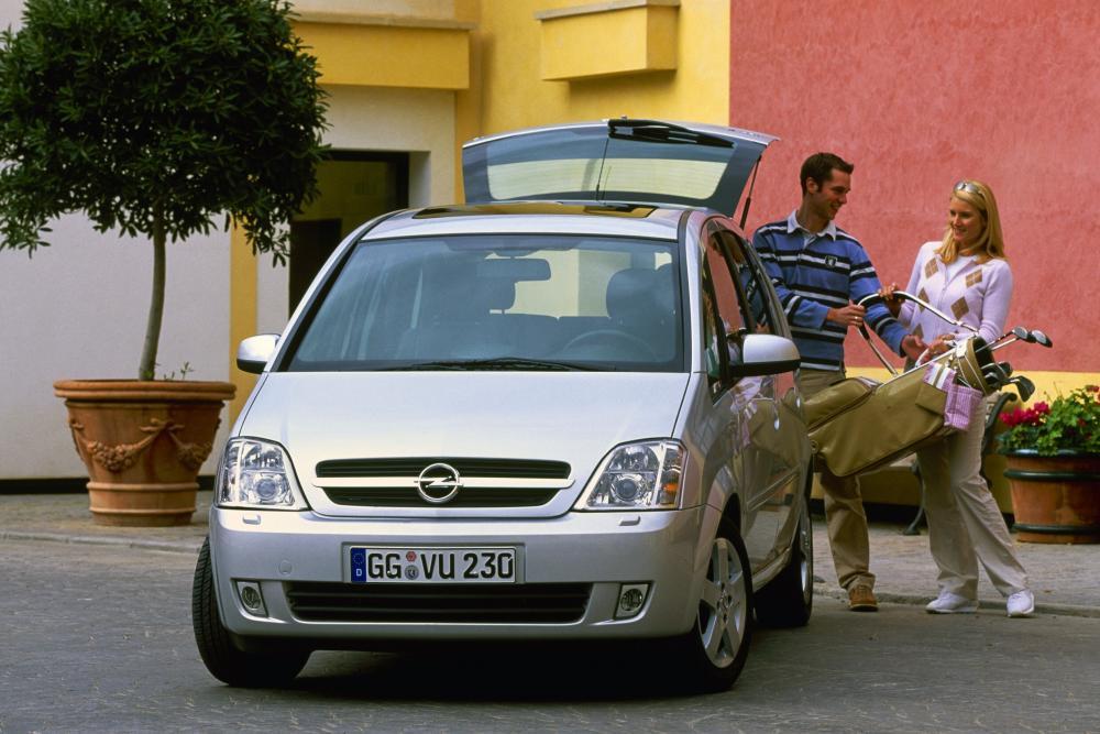 Opel Meriva 1 поколение (2003-2006) Минивэн
