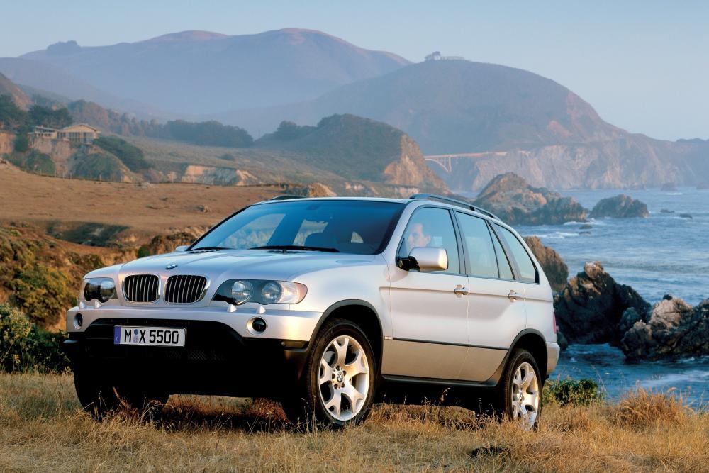 BMW X5 1 поколение E53 (1999-2003) Кроссовер