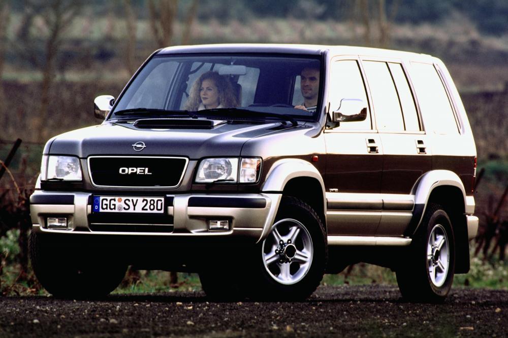 Opel Monterey 1 поколение [рестайлинг] (1998-1999) Внедорожник 5-дв.