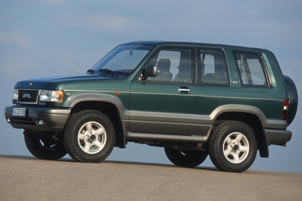 Opel Monterey 1 поколение (1991-1998) Внедорожник 3-дв.